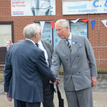 Royal Visit Photography Courtesy of Simon Kench - Holderness Coast Fisheries Local Action Group